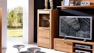 Vitrine 60 Cm Breit : vitrine links nature plus 60 cm breit kernbuche teilmassiv ~ Whattoseeinmadrid.com Haus und Dekorationen