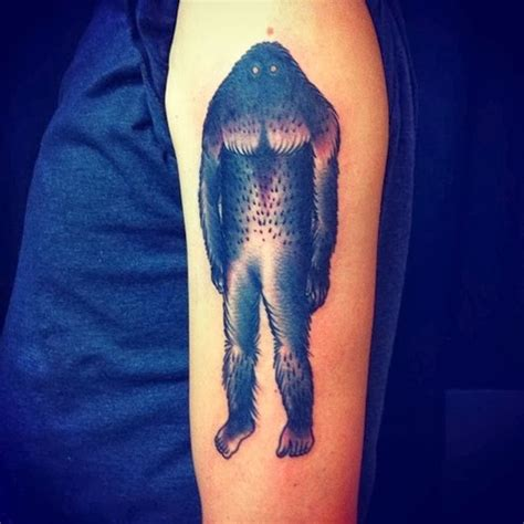 bigfoot tattoos bigfoot research news