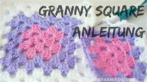 Granny Squares Muster : einfaches granny square h keln anleitung f r anf nger ~ A.2002-acura-tl-radio.info Haus und Dekorationen