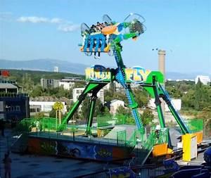 Mini Loop Fighter - The Ninja Fly - Technical Park ...  Ride