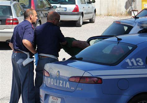 volante polizia di stato reggio calabria vasta operazione della polizia di stato
