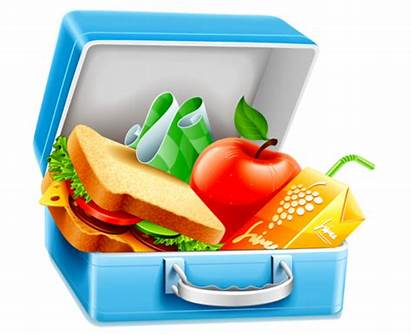 Lunch Clipart Healthy Clip Box Bag Picnic