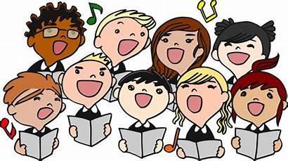 Children Singing Clipart Choir Choral Class Svg