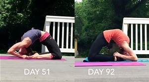 Kapotasana Before and After - The Flexibility Challenge ...