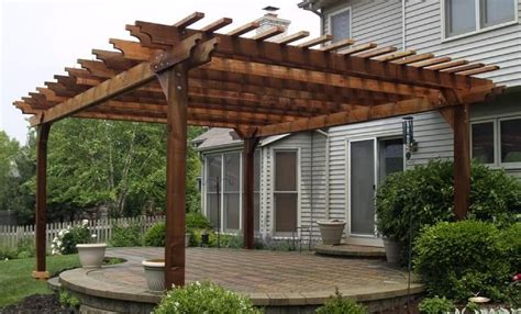 cedar patio cover kits woodworking projects plans