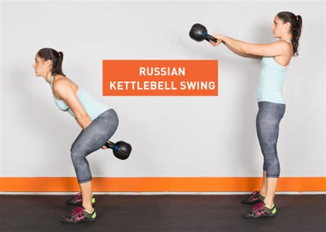 kettlebell swing exercise workouts exercises arm single russian fitness greatist ass styles
