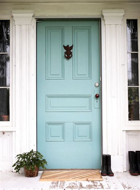 colorful front doors    statement