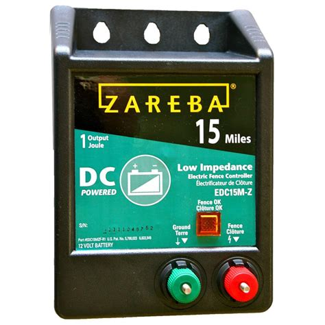 battery powered fan cing zareba 15 mile battery operated low impedance fence