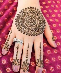 Latest Arabic Mehndi Designs for Full Hands HD Images