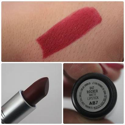 Mac Rocker Labial Haul Abril Particulas Parece