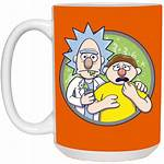 Clipart Mug Kawaii Morty Transparent Rick Cup
