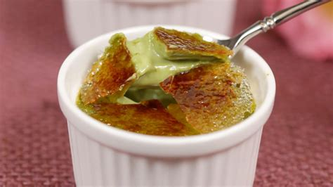 cuisine creme brulee matcha creme brulee recipe green tea crème brûlée dessert