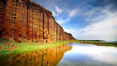 Reflection Landscape Rock Nature Cliff Formation Water