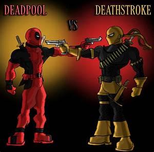 Deadpool vs Deathstroke by Jerem6401 on DeviantArt