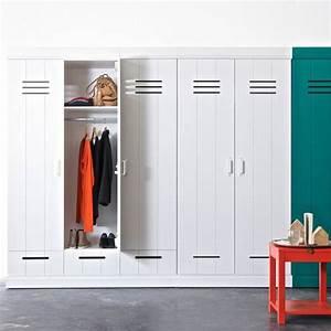Kleiderschrank 3 Türig Weiß : kleiderschrank connect spind woood 3 t rig 3 schubladen holz kiefer wei dannenfelser ~ Indierocktalk.com Haus und Dekorationen