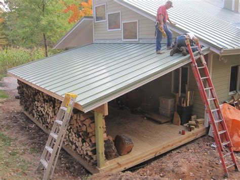 how to roof a shed brainright shed addition