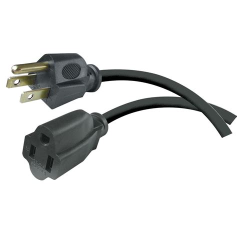 home depot l cord hdx 15 ft 16 3 workshop extension cord black aw64001