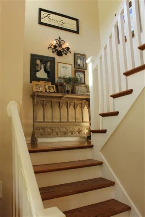 stair landing decor ideas  pinterest
