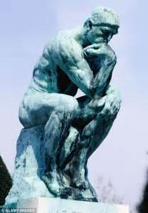 The Thinking Man Statue Sculpture