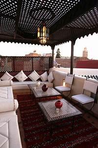 Tonnelle Pour Balcon : une terrasse la marocaine terrasses le marocain et maroc ~ Premium-room.com Idées de Décoration