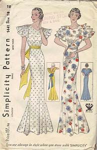 Simplicity 1441 A | Vintage Sewing Patterns | Fandom ...
