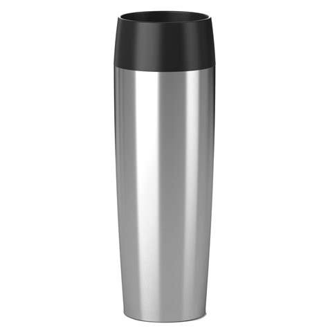 emsa travel mug grande isolierbecher mit press verschluss fassungsverm 246 500 ml