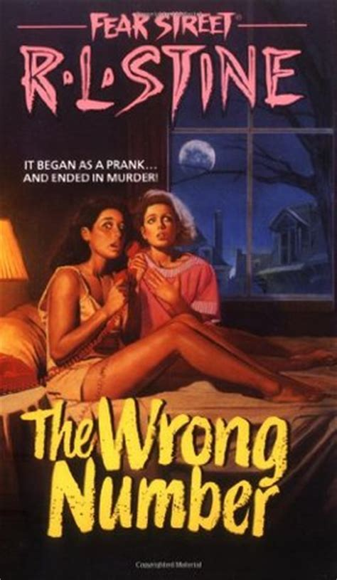 wrong number fear street   rl stine