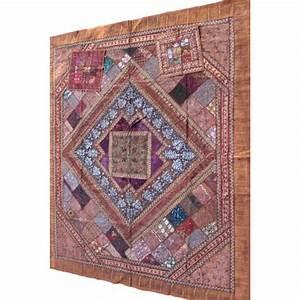 Couvre Lit Patchwork : acheter patchwork indien couvre lit ~ Teatrodelosmanantiales.com Idées de Décoration