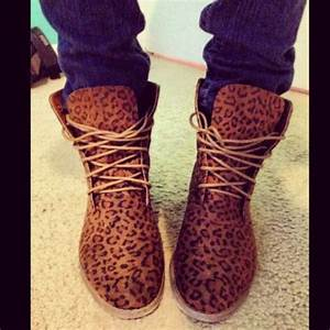 Shoes: boots, leopard print, leopard print, leopard print ...