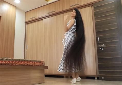indian rapunzel   worlds longest hair  years