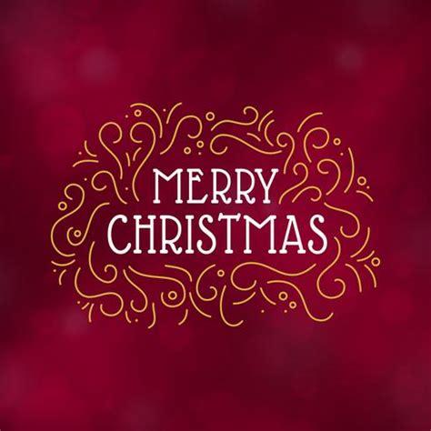 merry christmas typography design vector illustration download free vector art stock graphics