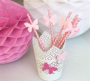 table-decoration-ideas-summer-pink-drinking-straws-paper
