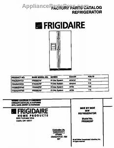 Parts For Frigidaire Frs26zrfw3  Cover Parts
