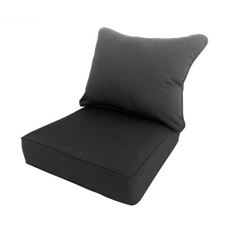 cushions extra comfort  deep seat cushions