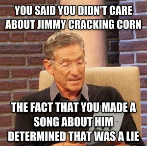 livememe.com - Maury Determined That Was a Lie