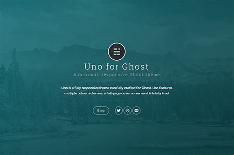 Ghost Themes 7 Best Free Ghost Themes Designrope