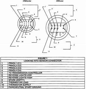 U0026 39 96 To Newer A604 Trs Sensor Wiring
