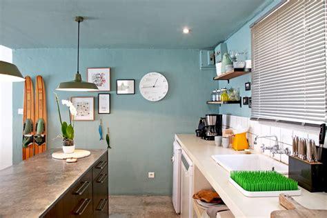couleur de peinture pour une cuisine peinture pour cuisine 5 idées de couleurs tendances en