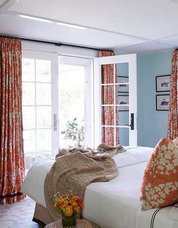blue and orange bedroom panda s house
