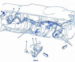 Oldsmobile Bravada 1997 Electrical Circuit Wiring Diagram