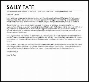 cover letters samples for administrative assistant marketing project manager cover letter sample cover