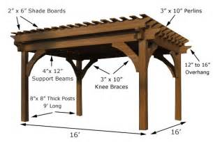 8x8 Shed Plans Free Download by Country Log Homes Timber Frame Pergola Kits 16x16