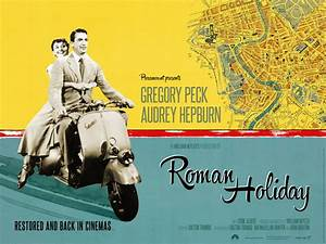 New poster for Roman Holiday
