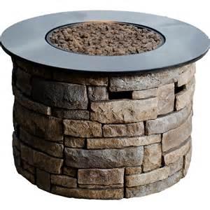 Hampton Bay Outdoor Furniture Covers by Shop Bond Canyon Ridge 36 6 In W 50 000 Btu Brown