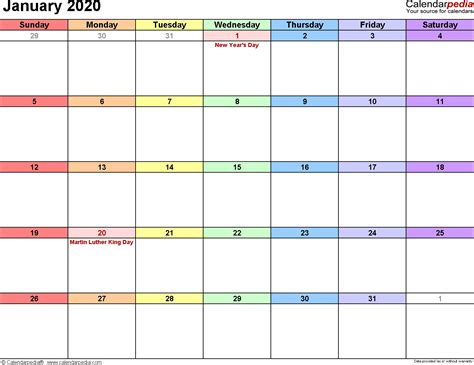 january calendar editable qualads