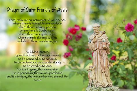 prayer of francis of assisi prayer of st francis of assisi by bonnie barry