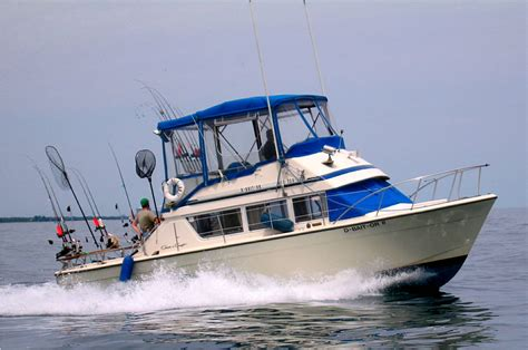 Charter Fishing Boat Lake Michigan by Fishing Trips And Charters Michigan Autos Post