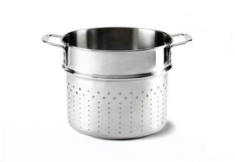 calphalon tri ply stainless pasta insert  quart cutlery