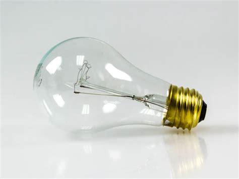 empty light bulb halco 60w 130v a19 clear bulb vibration service e26 base