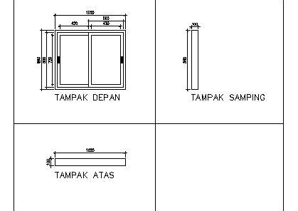 design jendela minimalis  kamar mandi utama pintu